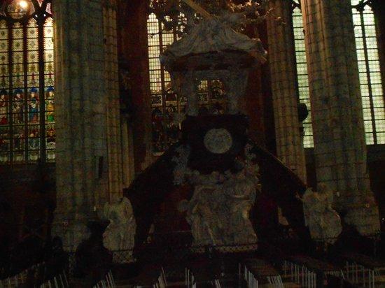 Catedral de San Bravo (Sint-Baafskathedraal): PÚLPITO IGLESIA SAN BRAVO