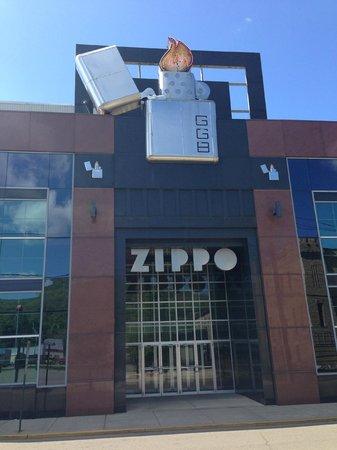 Best Western Plus Bradford Inn: Zippo lighter factory