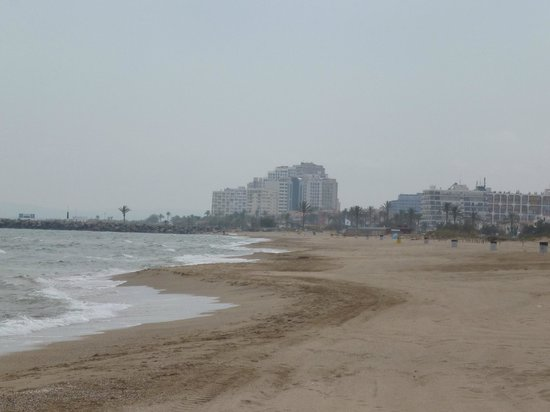 Camping Castell Mar: Empuria brava vue de la plage