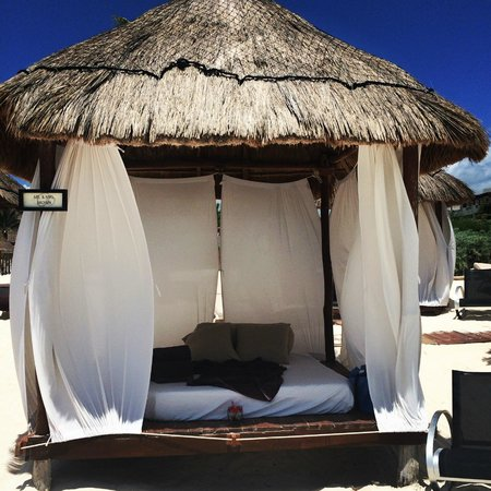Secrets Maroma Beach Riviera Cancun: Private palapa