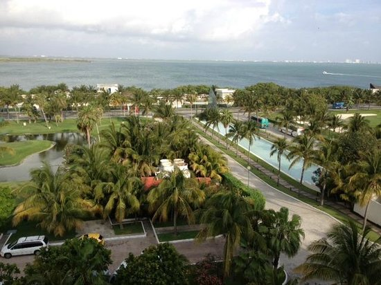 Grand Oasis Cancun : vista do apartamento