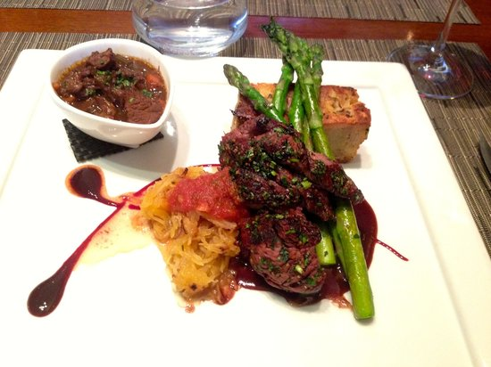 Wildflower Grill: Delicious Bison - two ways