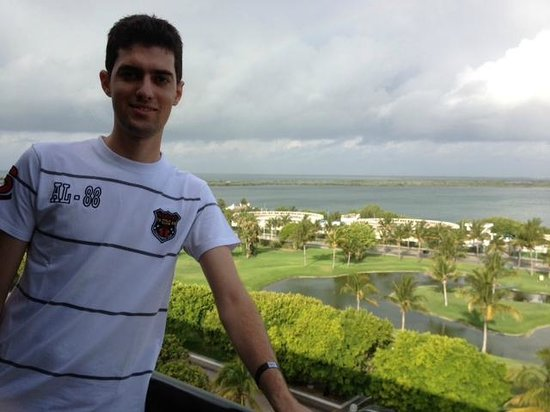 Grand Oasis Cancun : vista do quarto