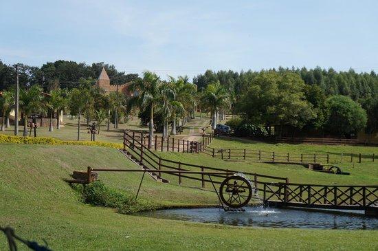 Recanto Alvorada Eco Resort: Roda d´agua