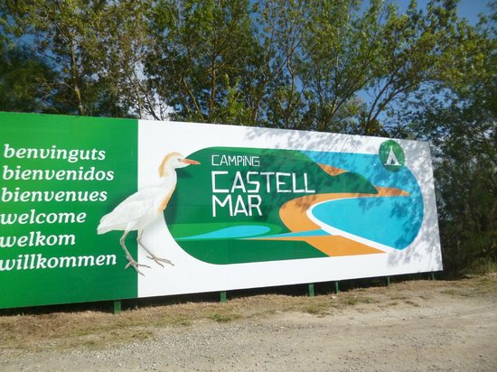 Camping Castell Mar: camping
