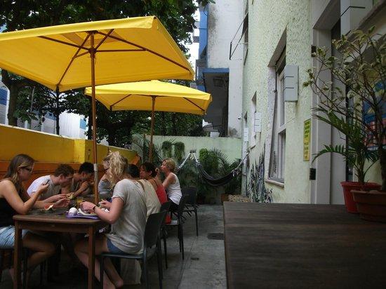 Lemon Spirit Hostel: Outside area