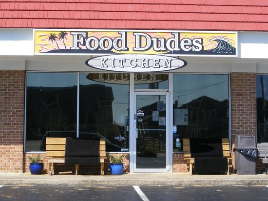 Food Dudes : Don't let the location fool you, great food!