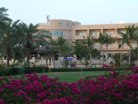 Hilton Al Hamra Beach & Golf Resort: Hotelanlage