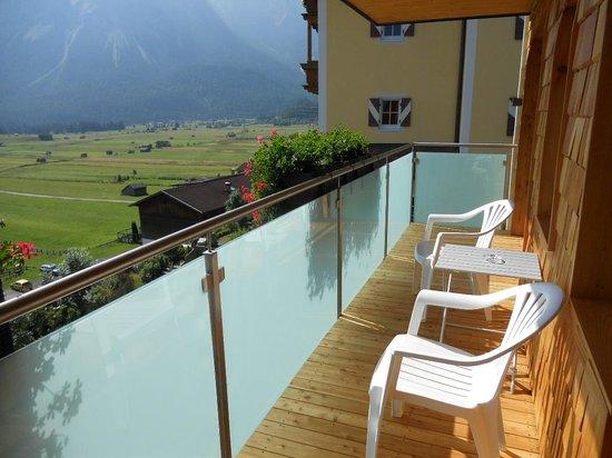 Hotel Hubertushof: Il balcone
