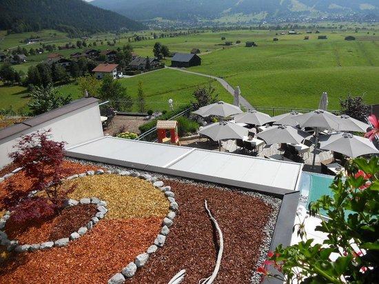 Hotel Hubertushof: La terrazza del ristorante