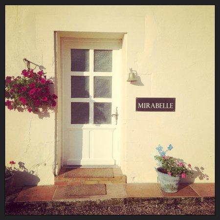 Mirabelle : The main house front door