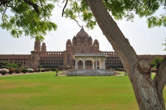 Umaid Bhawan Palace Jodhpur: the baradari..