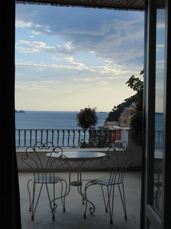 Villa Rosa : Vista da varanda do quarto.