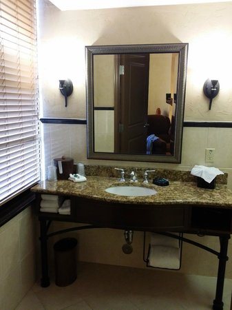 Drury Plaza Hotel San Antonio Riverwalk: The bathroom for room 1121