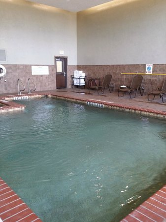 Drury Plaza Hotel San Antonio Riverwalk: The indoor swimming pool and hot tub