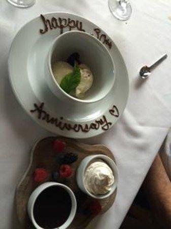 Waldorf Astoria Park City: special dessert