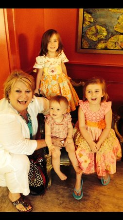 Southern Hotel: Granddaughters in the Red Room