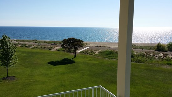 Illinois Beach Resort and Conference Center: view from balcony on 3rd floor