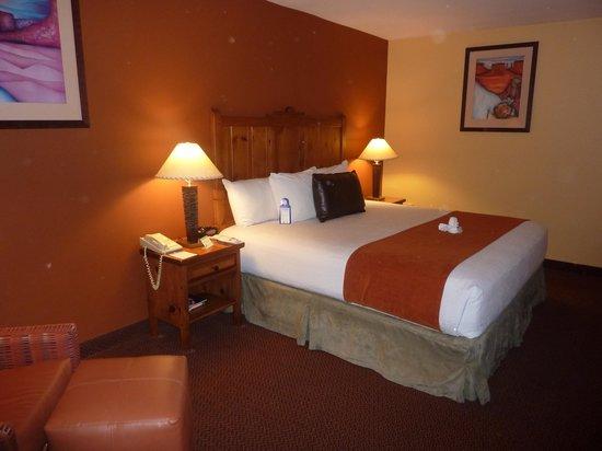 Best Western Plus Rio Grande Inn: Bedroom at Rio Grande