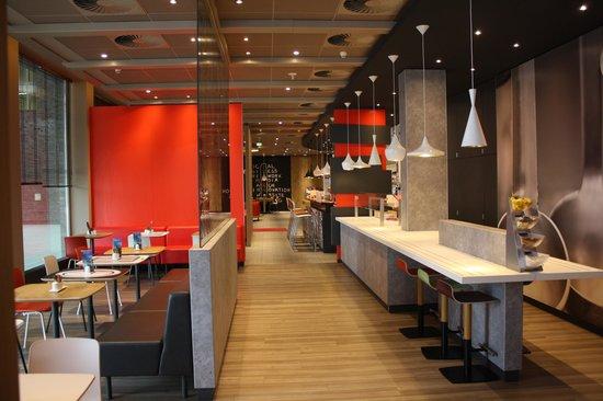 Ibis Hamburg Alsterring: restaurante