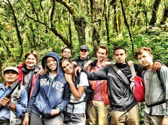 Acatenango Volcano: Trekking through the lush forest