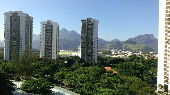 Transamerica Prime Barra: View facing the nearest mountains