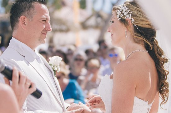 Paradisus Palma Real Golf & Spa Resort: Wedding Ceremony on Gabi Beach