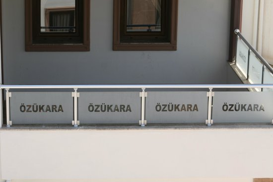 Ozukara Apartments: Balcony