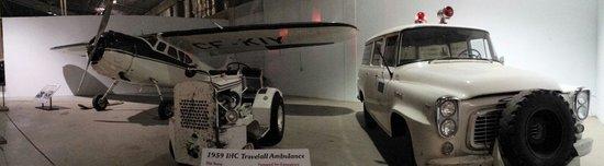 Western Development Museum: Ambulance and plane