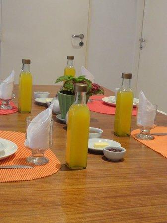 Querido B&B: Café da manhã caprichado e ecologicamente correto!