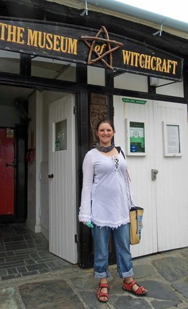 The Museum of Witchcraft and Magic: My wife an aspiring witch :-D