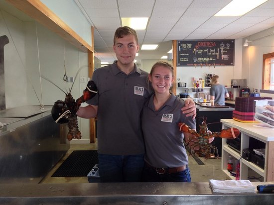 Beal's Lobster Pier: Our great 2014 team