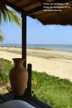 Serrambi Resort: Vista do restaurante