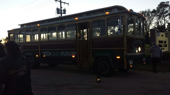 Moose Jaw Trolley: Ghost trolley