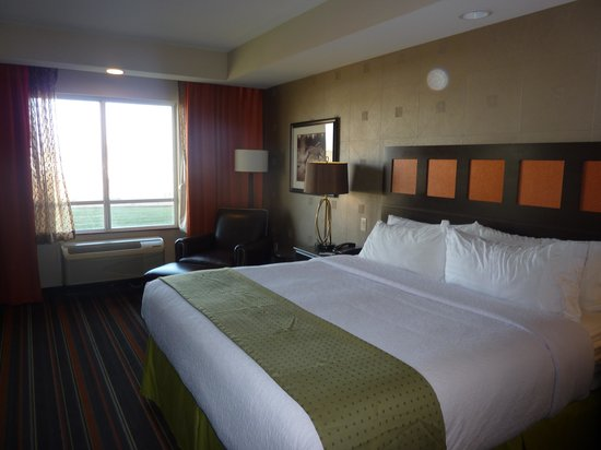 Holiday Inn Amarillo West Medical Center : Bedroom at Holiday Inn