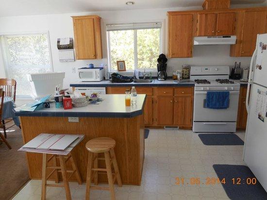 Alaska Copper River B&B: Kitchen