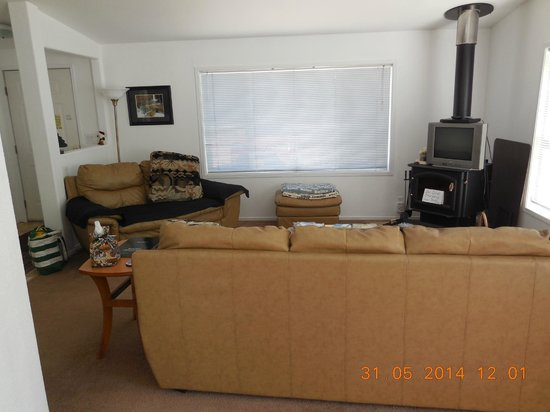 Alaska Copper River B&B: Living Room