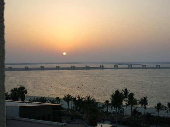 JA Jebel Ali Beach Hotel: View from the room