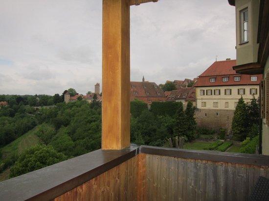 Hotel Goldener Hirsch: Balcony