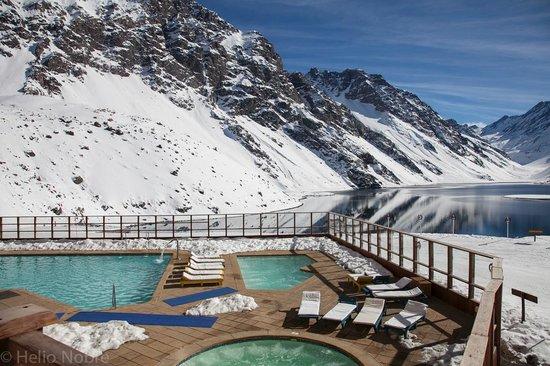 Ski Portillo : Piscina e a Laguna del Inca