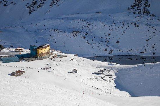 Ski Portillo : Vista da pista Las Lomas