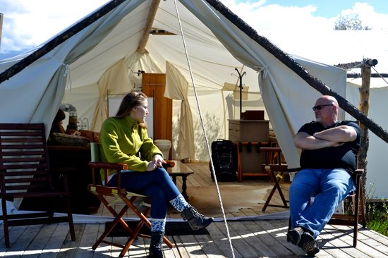 Yellowstone Under Canvas: Enjoying great quality time