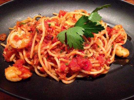 Gusto Liverpool: Lobster & prawn pasta