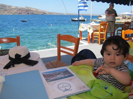 Taverna Katina : On the waterfront