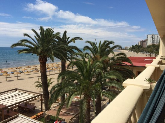 Voramar Hotel: Great view from the balcony.