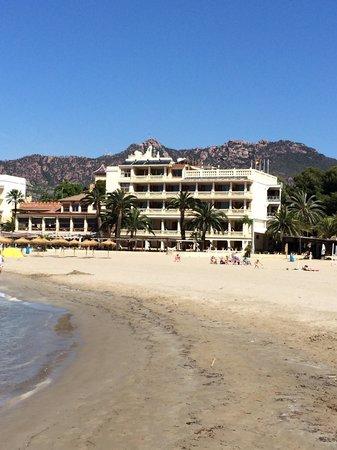 Voramar Hotel: Lovely sandy beach