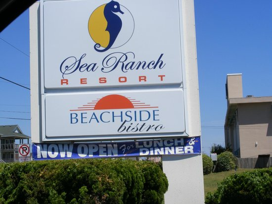 Beachside Bistro: Inside of the Sea Ranch Resort