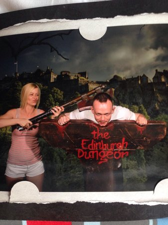 The Edinburgh Dungeon: Lol
