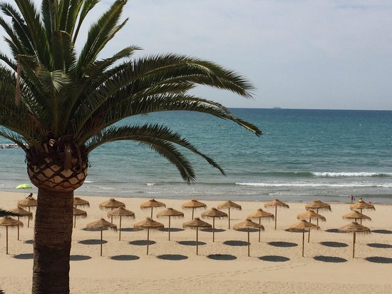 Voramar Hotel: Fabulous beach