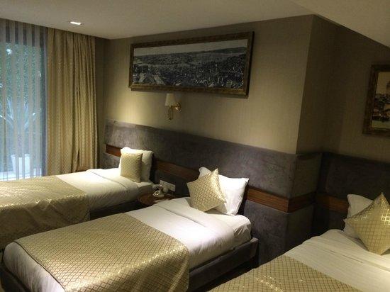 """Nowy Efendi Hotel """"Special Class"""": Трехместный номер с 3 кроватями"""
